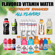 Vitamin Water Flavored Electrolyte Sports Fitness Energy Low Calorie Variety Lot