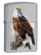 Zippo Lighter 21a001 Eagle Design Windproof Rechargeable Bracelet Menand039s Watch