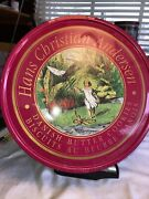 Empty Hans Christian Anderson Danish Butter Cookie Tin.