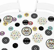 Day Of The Dead - Halloween Party Giant Circle Confetti - Sugar Skull Party Dec