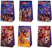 Hongfeng 12 Pack Party Gift Bags For Coco Party Supplies, Candy Bags Goodie Bags