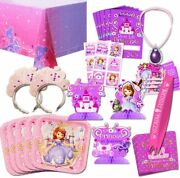 Disney Sofia The First Party Supplies Value Set-- Birthday Party Plates Cups N