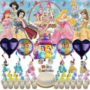 2nd Disney Princess Party Supplies | 2 | Balloons | Second | For Girl | Banner |