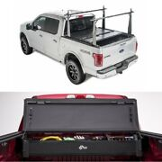 Bak For 15-18 Ford F-150 6ft 6in Flip Cs Truck Tonneaucover And Rack W/storage Box