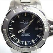 Ball-watch Ball Watch Engineer Hydrocarbon Deep Quest L41c3633 Used Japan Ems