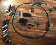 Ho Scale Tyco Model Train Xl Lot, Engine, Track, Decor, Cars Box Controllers