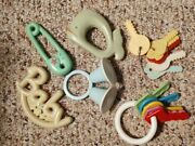 2 Keyset Pin Bells Baby Sanitoy Whatle Rattle Vintage Plastic Baby Toy