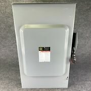 Square D Hu364nrb 200 Amp Disconnect Safety Switch 50/60 Hz F05 Series