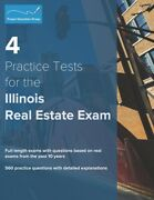 4 Practice Tests For The Illinois Real Estate Exam 560 Practice Questions ...
