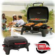 Portable Propane Gas Grill Stainless Steel Barbecue Rv Outdoor Backyard Bbq New
