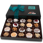 Oh Nuts Chocolate Covered Cookie Gift Baskets 20 Variety Gourmet Assortment Se