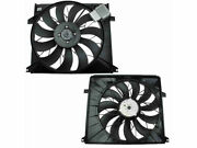 Auxiliary Fan Assembly Genuine 3bsd57 For Mercedes Ml500 2002 2003 2004 2005