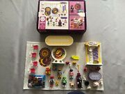 Complete - Playmobil 5511 Victorian Birthday Party Set W Box +3 Extra Figures
