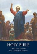 Holy Bible Authorized King James Version, Pure Cambridge By Unknown Excellent