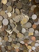 Premium Lot Of 100 World Coins Great Variety Less Than 20andcent Per Coin