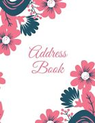 Address Book Alphabetical Contact And Phone Numbers Information Pages Telep...