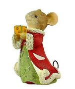 Heart Of Christmas Mice By Karen Hahn - Swiss Miss Gift - Mouse W/ Cheese Gift