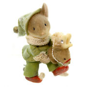 Heart Of Christmas Mice By Karen Hahn - Mouse With Toy Reindeer