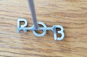 Classic Steak Branding Iron Texas Irons With Rob Customized Letters.