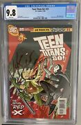 Teen Titans Go 23 Cgc 9.8 Dc Comics 2005 Red X Appearance Very Hard To Find