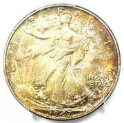 1947 Walking Liberty Half Dollar 50c Coin - Certified Pcgs Ms67 - 1600 Value
