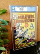 Official Handbook Of The Marvel Universe 1 Not Cgc 9.9 Grade Pgx Marvel Comic