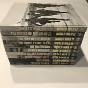 Time Life Books World War Ii Ww 2 Series, 10 Book Partial Set, Hard Cover
