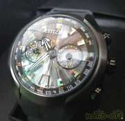 Citizen Eco Satellite Wave H909-s085012 Wristwatch From Japan