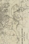Ca 1919 Map Of Greater Baltimore, Maryland - A Poetose Notebook / Journal ...