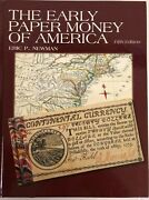 Early Paper Money Of America 5th Edition New Book By Eric P Newman Free Shipusa