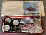 Vintage Sears Roebuck And Co. Red Wagon Nos Rare
