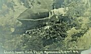 First Flight Of The Jones Airship In Hammondsport N Y Rare 1908 Real Photo Post