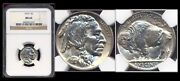 1919 5c Ngc Ms64 Extremely Sharp Mint Lusterandnbsp-buffalo Nickel