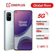 6.55 Oneplus 8t Snapdragon 865 Unlocked 5g Cell Phone 12gb+ 256gb Smartphone