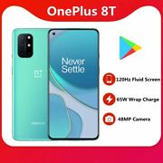 Oneplus 8t Android 11 Unlocked Cell Phone Dual Sim 4500mah Smartphone 12+256gb