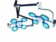 Led Operation Theater Light Fully Remote Controlled Miraz 4+4 Double Dome Light