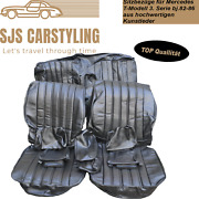 Seat Covers For Mercedes W123 T Model Estate 3. Series, Black 250 240 230 Etc