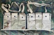 Pair 2 Of Us 6 Mag Molle Ii Bandoleer Ammo Pouch 3-color Desert Camo