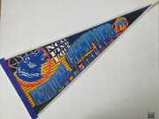 Vintage 1995 Ncaa Final Four Ucla Bruins National Champions Full Sized Pennant
