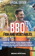 Bbq Fish And Vegetables - Special Edition Salmon Shrimp Tuna Tilapia H...