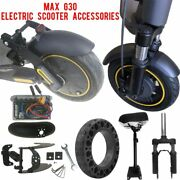 Max G30 Electric Scooter Fork Rear Shock Absorber Suspension Kit Seats Control