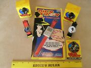Three Vintage Dick Tracy Timex Disney Wrist Watches Including 2-way