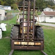 Marshall 5000 Lb. Forklift Built On Ford 801 Tractor Assembly