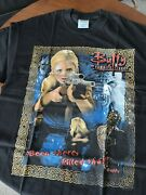 New Vtg 2001 Buffy The Vampire Slayer T-shirt L Been There Killed That Rare
