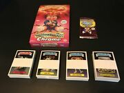 2013 Garbage Pail Kids Chrome Complete Series 1 + Lost Set + Hobby Box + Wrapper