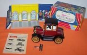 Vintage Schuco Tin Car Old Timer Wind Up Toy New In Box -