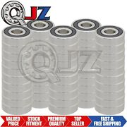 [50-pack] S6304-2rs Radial Stainless Ball Bearing Rubber Seal 20mm X 52mm X 15mm