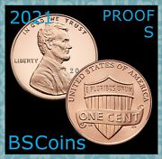 2021 S Lincoln Proof Shield Cent Gem Deep Cameo - In Stock - Ship Today