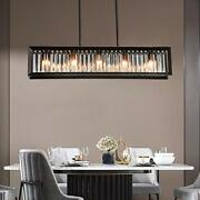 Newsee Kitchen Light Fixtures Modern Dining Room Farmhouse Chandelier Island ...