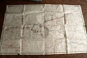Map Of Latvia Ussr Antiques 1968 .... Rrl Station In Latvia Big Size 1x16 M